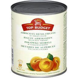 Abricots demi-fruits au sirop léger