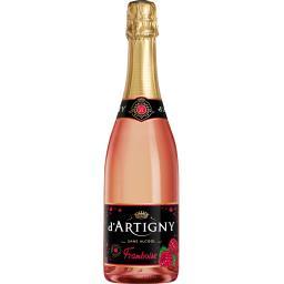 d'Artigny D'Artigny Boisson sans alcool framboise la bouteille de 75 cl