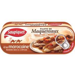 Filets de maquereaux à la marocaine raisins secs & 5...