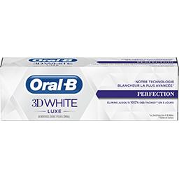 Oral B Oral-B Dentifrice 3d white luxe perfection Le tube de 75 ml