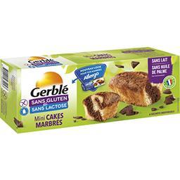 Mini cakes marbrés sans gluten