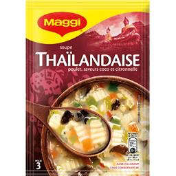 Maggi Maggi Soupe Thaïlandaise le sachet de 65 g