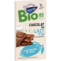 Chocolat au lait extra-fin BIO