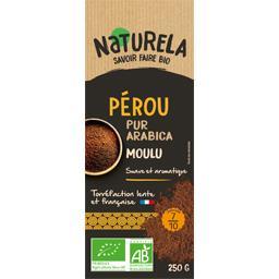 Naturela Café moulu pur arabica Pérou BIO