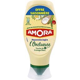 Amora Amora Mayonnaise légère L'Onctueuse le flacon de 430 g - offre spéciale