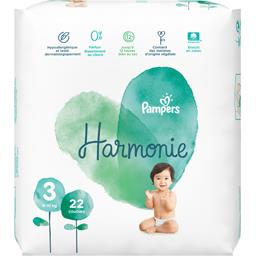 Pampers Couches harmonie taille 3, 6-10 kg