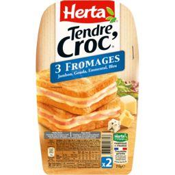 Tendre Croc' - Croque-monsieur 3 fromages
