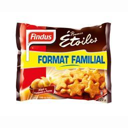 Pommes étoiles, râpé de pommes de terre
