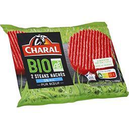 Steaks hachés pur bœuf BIO 5% MG