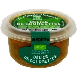Le Marché Provençal Délice de courgettes le bol de 100 g