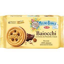Mulino Bianco mulino bianco Biscuits Baiocchi le paquet de 336 g