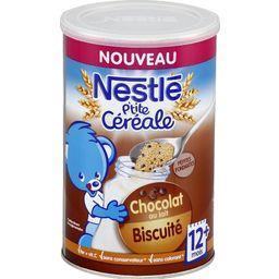P'tite Céréale - Céréale chocolat au lait biscuité, ...