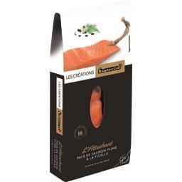 L'Attachant Pavé de saumon fumé à la ficelle