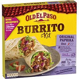 Kit pour Burritos Original paprika doux