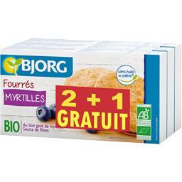Bjorg Fourrés myrtilles BIO le lot de 2 paquets - 525g
