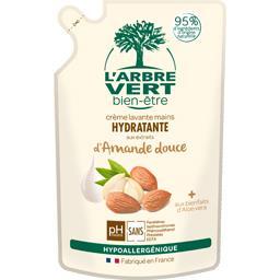 L'Arbre Vert Crème lavante main Hydratante d'amande douche