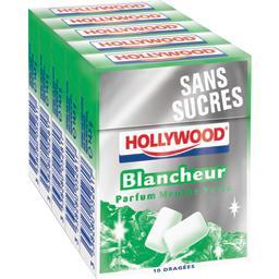 Blancheur - Chewing-gum parfum menthe verte sans suc...