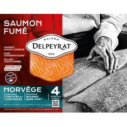 Le Saumon fumé extra Norvège