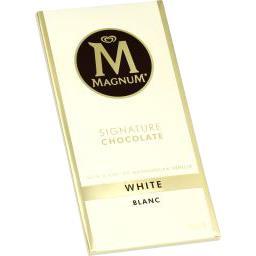 Chocolat blanc vanille de Madagascar
