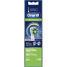 Oral B Oral-B Brossette crossaction avec technologie cleanmaximiser Le lot de 2 brossettes