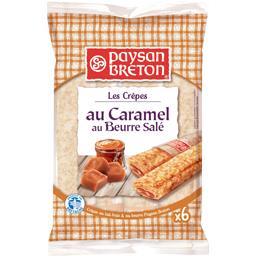 Paysan Breton Paysan Breton Les Crêpes au caramel au beurre salé les 6 crêpes de 30 g