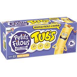 Petits Filous Tub's - Spécialité laitière goût vanil...