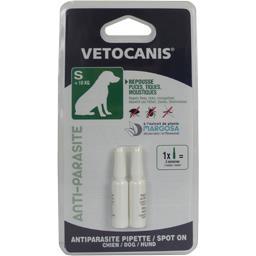 Pipette anti-parasite pour chien <10 kg
