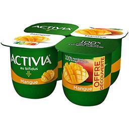 Activia - Lait fermenté mangue