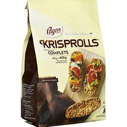 Krisprolls Krisprolls Petits pains suédois complets le paquet de 425g