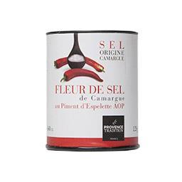 Fleur de sel de Camargue au piment d'Espelette AOC