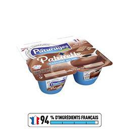 Paturette - Crème dessert chocolat au lait