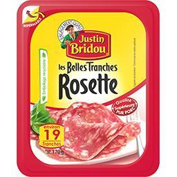 Justin Bridou Justin Bridou Les Belles Tranches rosette la barquette de 19 tranches - 170 g