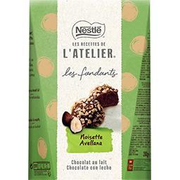 Nestlé Nestlé Chocolat Les Recettes de l'Atelier - Truffes chocolat lait noisettes la boite de 200 g