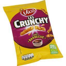 Les Crunchy - Biscuits apéritif goût barbecue