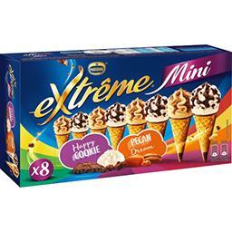 Nestlé Extrême Mini glaces Happy Cookie/Pécan Dream la boite de 8 - 312 g