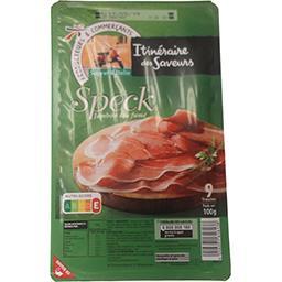 Saveur d'Italie - Speck jambon cru fumé