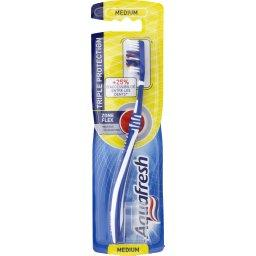 Flex Brosse à dents médium, triple protection