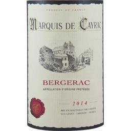 Bergerac, vin rouge