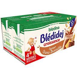 Blédidej Croissance - Céréales lactées saveur choco ...