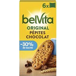 Belvita Petit Déjeuner - Biscuits pépites chocolat &...