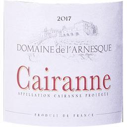 Cairanne Domaine de l'Arnesque - Caisse Bois - vin R...
