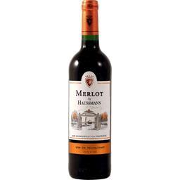 Vin de pays d'Oc Merlot, vin rouge