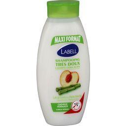 Shampooing très doux cheveux normaux, lait de bambou