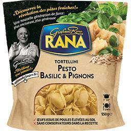 Giovanni Rana Rana Tortellini Pesto basilic & pignons le sachet de 250 g