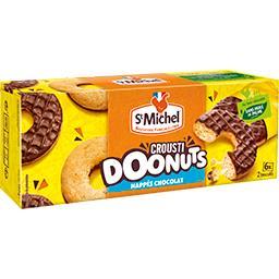 Biscuits Crousti Doonuts nappés chocolat
