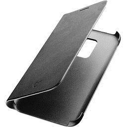 Etui folio noir pour Samsung Galaxy A8 2018