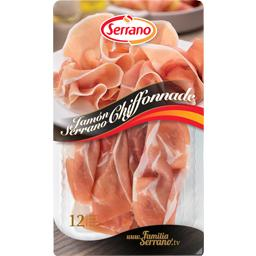 Chiffonnade de jambon Serrano