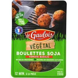 Végétal - Boulettes soja tomate basilic