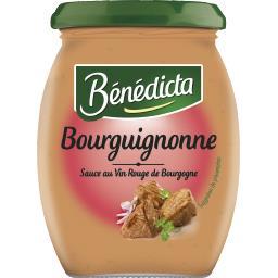 Sauce bourguignonne au vin rouge de Bourgogne