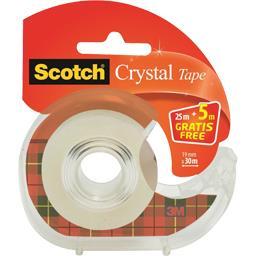 Scotch Scotch® 1 devidoir de ruban crystal transparent 25m + 5m g Le blister